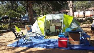 Vem acampar connosco - 1 dia em Quarteira Portugal
