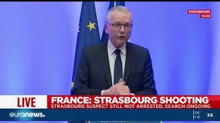 """El atacante de Estrasburgo gritó """"Alá es grande"""" antes de disparar, dice procurador"""