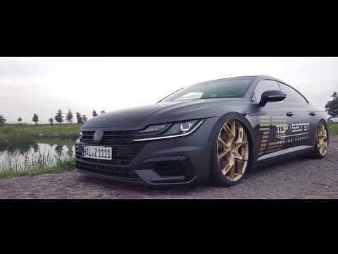 bagged VW Arteon 2018 ✖ Top Secret Tuning