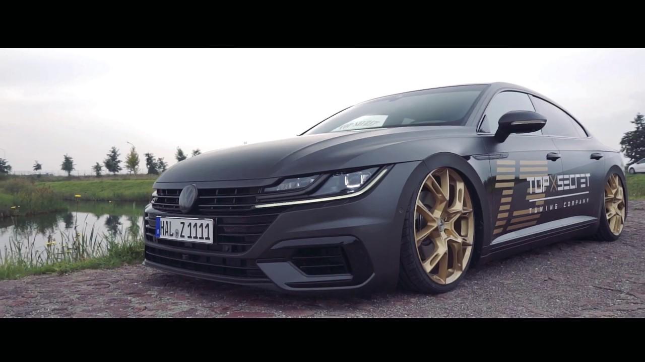 bagged VW Arteon 2018 Top Secret Tuning - YouTube
