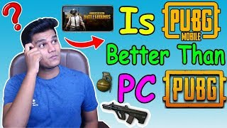 PUBG MOBILE or PUBG PC - Which is Better? PUBG Mobile AWM Chicken Dinner (11 Kills)