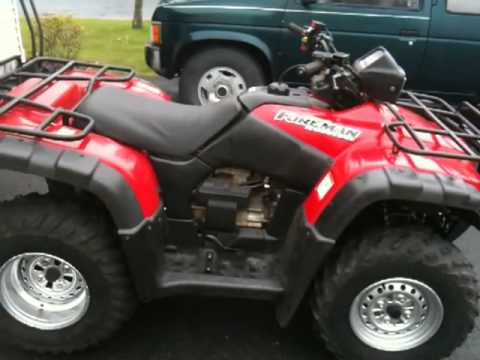 2001 Honda Rubicon 500 Finished Youtube