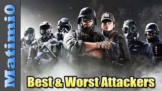 Best & Worst Attacking Operators - Rainbow Six Siege thumbnail