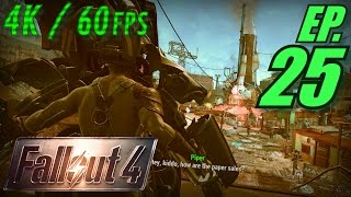 Fallout 4 Walkthrough in 4K Ultra HD / 60fps, Part 25: Entering Diamond City w/ Codsworth