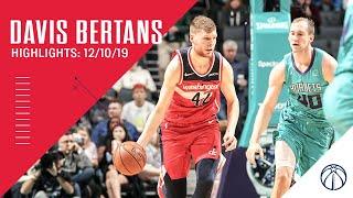 Highlights: Davis Bertans career-high 32 points, eight 3-pointers vs. Hornets - 12/10/19