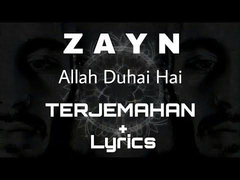 ZAYN (Terjemahan+Lirics) Allah Duhai Hai Cover