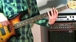 KC And The Sunshine Band - I'm Your Boogie Man - Bass Cover