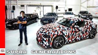 New 2019 Toyota Supra Meets Older Generations