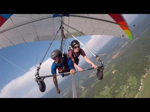 Rachel Dunn's Hang Gliding Tandem at Lookout Mountain