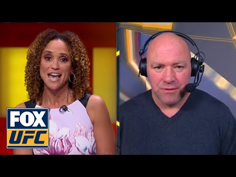 Dana White talks with Karyn Bryant after UFC St. Louis | INTERVIEW | UFC FIGHT NIGHT