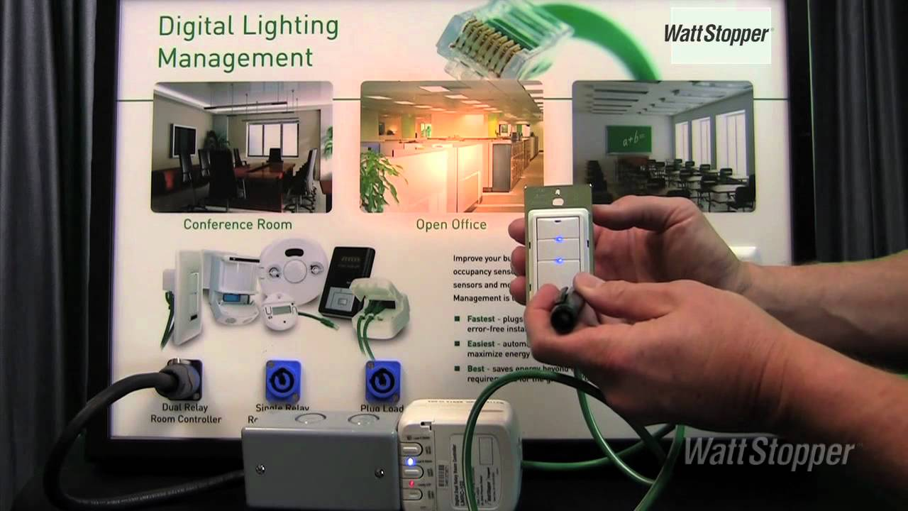 hight resolution of wattstopper how to modify system operation of a switch using push n learn technology