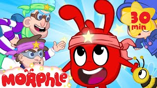 Ninja Morphle   My Magic Pet Morphle  Cartoons For Kids  Morphle TV  BRAND NEW