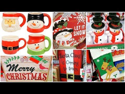 Christmas Decor Shopping At The Dollar Tree