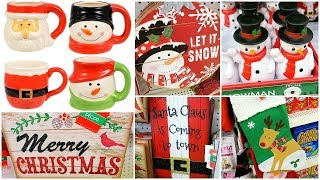 Christmas Decor Shop With Me At Dollar Tree 🎄 + Dollar Tree Christmas Decor Haul