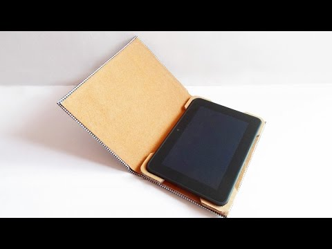How To Turn an Old Book into a Useful Tablet Case - DIY Technology Tutorial - Guidecentral