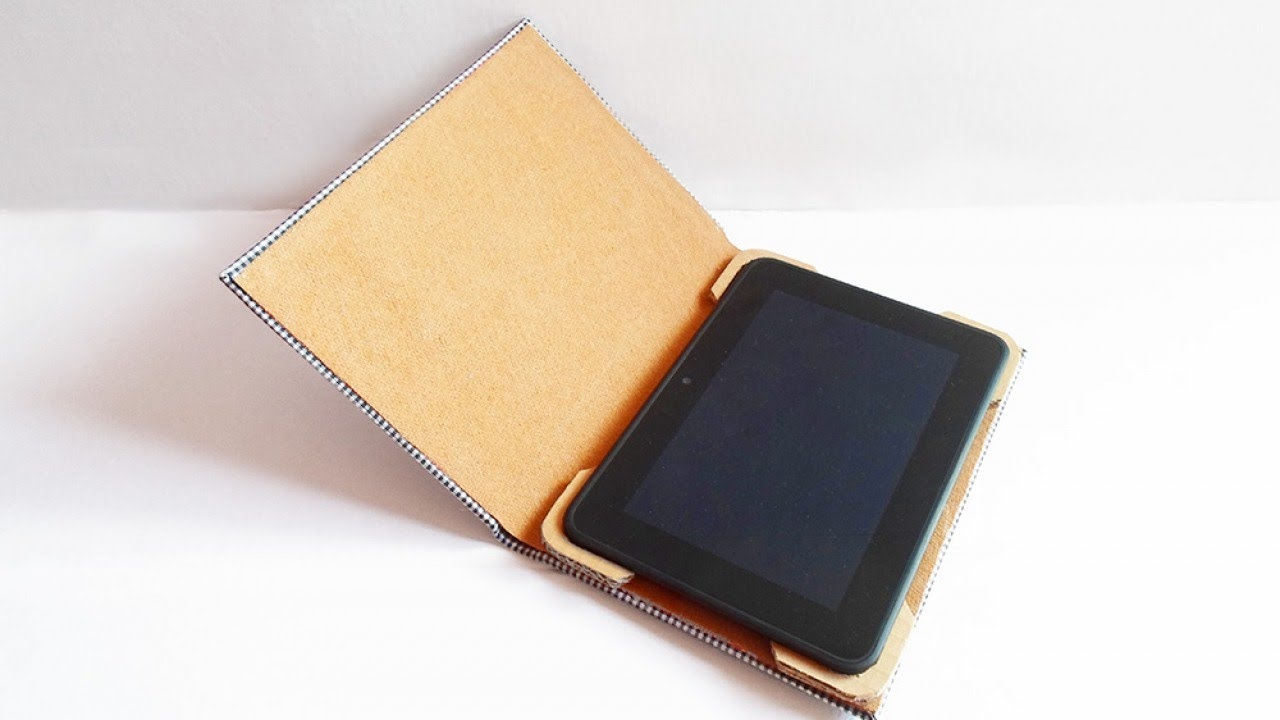 How To Turn an Old Book into a Useful Tablet Case - DIY ...