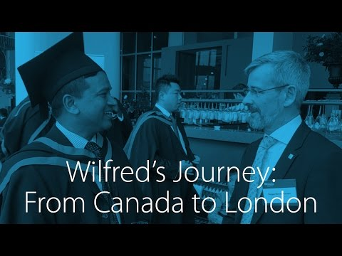 Wilfred's Journey from Canada to London – GoPro