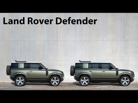 Erstkontakt: Land Rover Defender 110 und Defender 90 mit Innenraum-Check - Autophorie