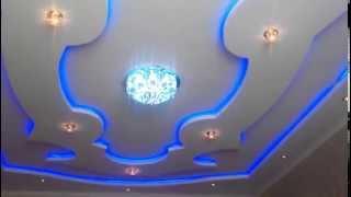 видео красивые потолки из гипсокартона