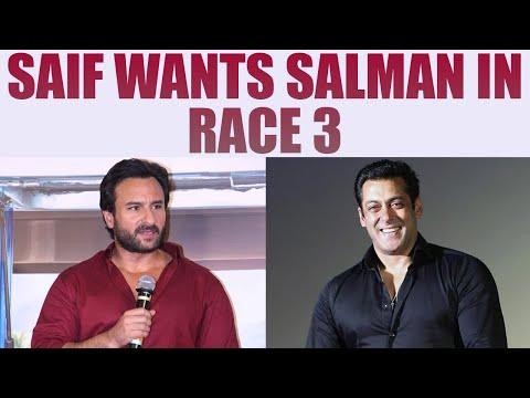 Saif Ali Khan REACTS on Salman Khan replacing him in Race 3; Watch Video | FilmiBeat Mp3