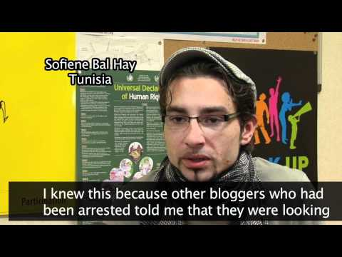 Youth bloggers - the Arab Spring