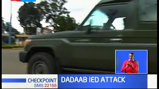 Dadaab IED Attack: 11 GSU officer killed in an IED attack, bodies airlifted to Nairobi