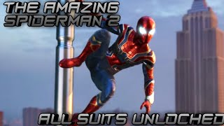 The Amazing Spider-man 2 || All Suits Unlocked