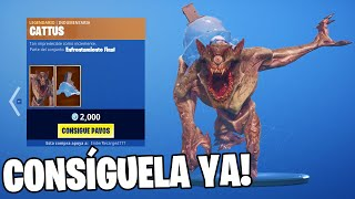 CATTUS MONSTRUO SKIN in the FORTNITE STORE!! 😱🐲