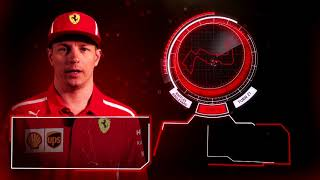 Kimi Raikkonen explains the Marina Bay circuit, Singapore 2018