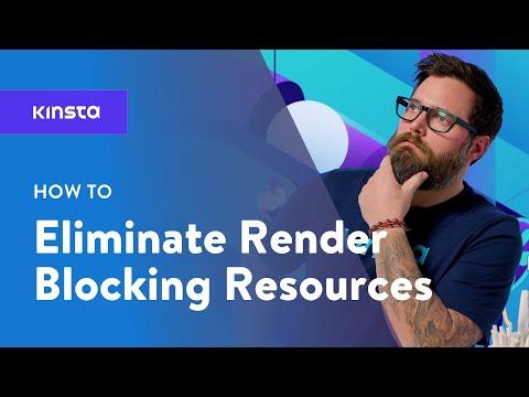 Eliminate render blocking javascript and css wordpress
