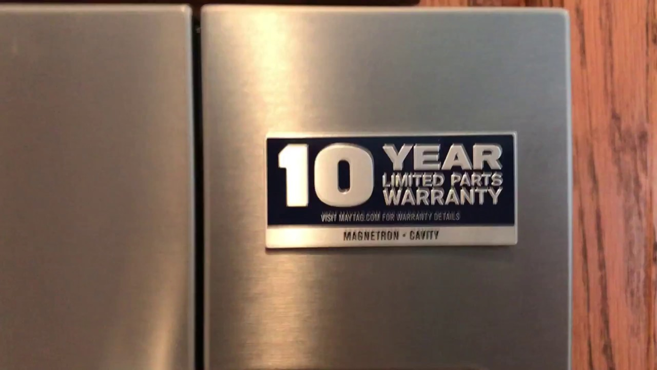 Washer And Dryer Cabinets How To Remove The 10 Year Warranty Label From Your Maytag