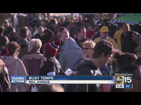 Multiple events happening in downtown Tempe on Saturday