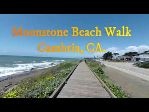 Moonstone Beach Walk In Cambria,CA.