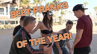 Best Pranks of the Year Review! 2014 Compilation!