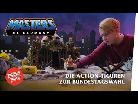 Die Masters of Germany Action-Figuren