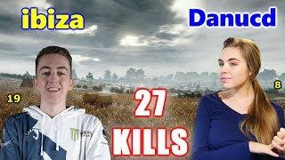 Team Liquid ibiza & Danucd - 27 KILLS - Mini14+M416 - DUO - PUBG