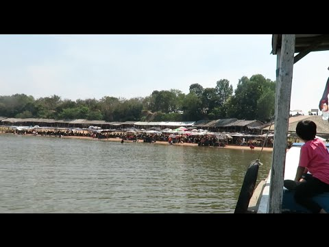 The West Mebon Island & Baray Teuk Thla Resort at Siem Reap Province