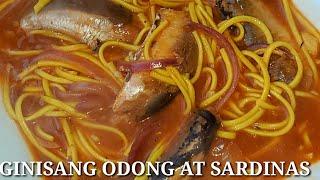 GINISANG ODONG WITH SARDINAS