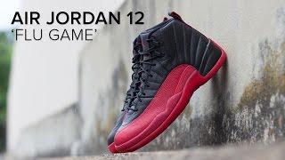 air jordan 12 flu game quick on feet look