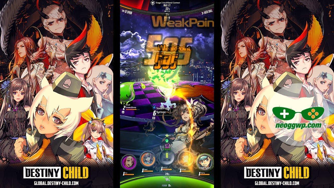 destiny child mod apk 1.0.2