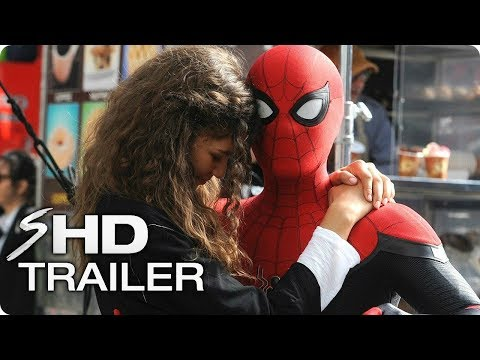 "SPIDER-MAN: Far From Home Tribute Trailer (2019) ""Don't Wanna Go"" Tom Holland, Zendaya Marvel Movie"
