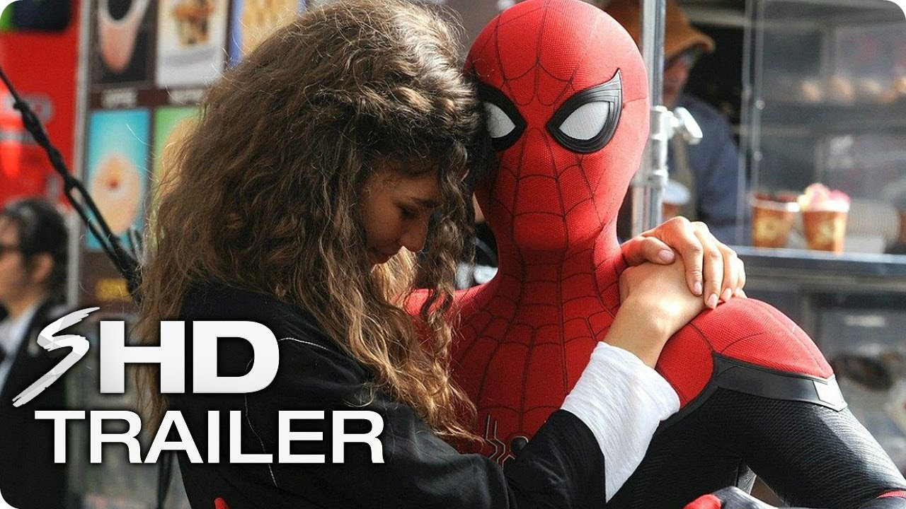 SPIDER-MAN: Far From Home Tribute Trailer (2019)