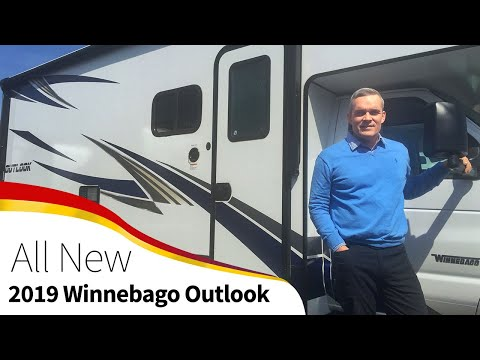 2019 Winnebago Outlook 22E Walk through -Ford Class C Motorhome RV Camper