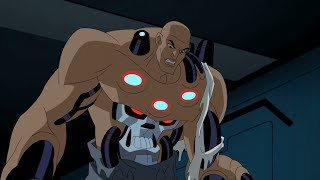 Luthor Turns into Brainiac - Justice League Unlimited