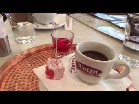 Greek Coffee At Athens