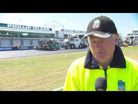 Phillip Island Resurfacing Works Commence