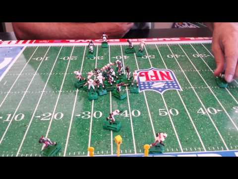 Electric Football Jim Hart to Terry Metcalf