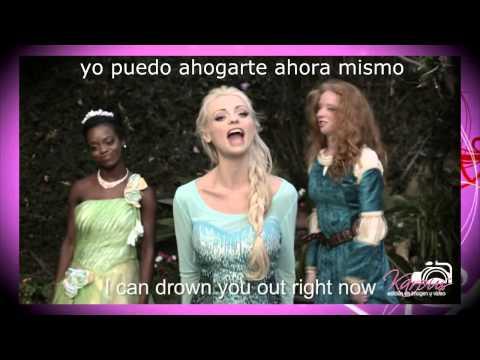 PRINCESS RAP BATTLE: SNOW WHITE VS. ELSA (SPANISH/ESPAÑOL)