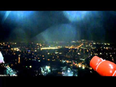 RC Timer Gimbal First Flight at Night in Istanbul