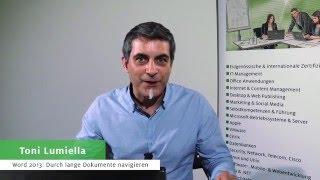 Digicomp Tipps & Tricks: schnelle Navigation in Word 2013